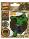 Pack of 5 Incredible Hulk vinyl peel off decals / stickers    (py)